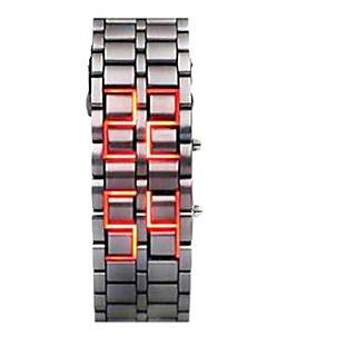 ATC Silver Metal Digital Watch - LD-001