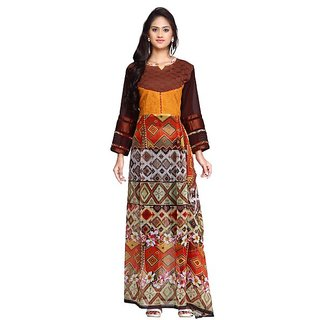 Fancy Vastra Printed party wear Stitched Kurti