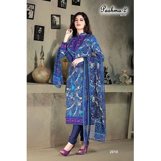 Fancy Vastra Printed Casual Wear Unstitched Salwar Suit