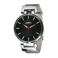 Oura Black Dial Party-Wedding WIBCH-131 Metal Watch For Women