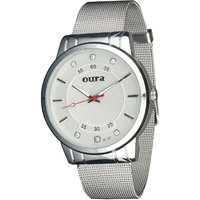 Oura White Dial Party-Wedding WIWCH-127 Metal Watch For Women