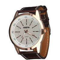 Oura White Dial MIWSBR-133 Stylist Watch For Men