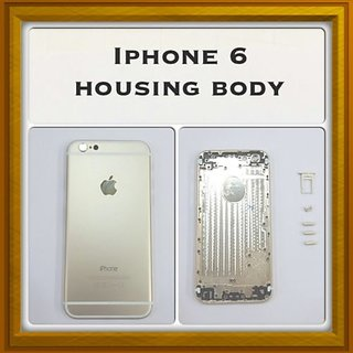 New Full Housing Body Panel - For IPhone 6 - Gold