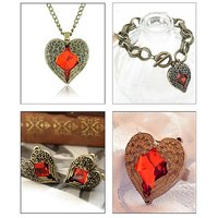 Pari Trendy Heart Collection Combo