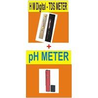 TDS Meter + PH Meter : Combo Offer (pH + TDS Meter)