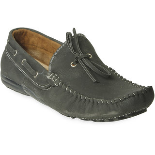 TEN New Design Black Synthetic Leather Loafers