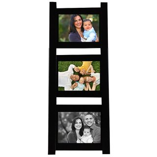 Mydress Mystyle Decorative Ladder Style Wall Hanging Photo Frame Collage with 3