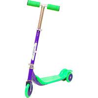 Grabby Three Wheels Kids/children Kick Scooter With Adjustable T Bar - Purple