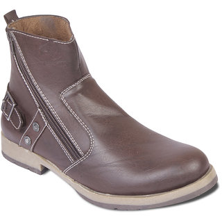 TEN Urbane Brown Leather Boots