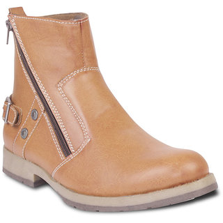 TEN Well-Formed Tan Leather Boots