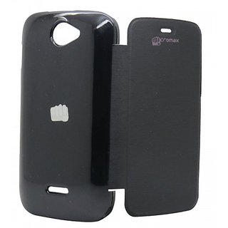 Micromax Flip Cover For A47 Bolt black available at ShopClues for Rs.159