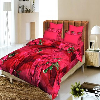 Story @ Home Red 1 Single Quilt / Comforter-CFS1206