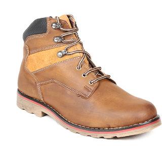 TEN Impressive Tan Leather Boots