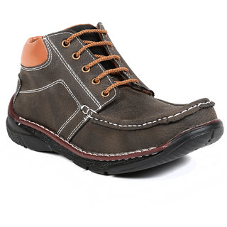 TEN Authentic Olive Leather Boots