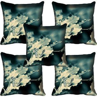 meSleep Floral Digitally Printed Cushion Cover (16x16)