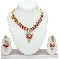 Atasi International Golden Necklace Set
