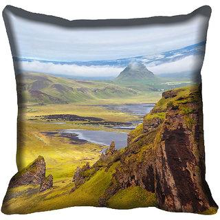 meSleep Nature Digitally Printed Cushion Cover (16x16)