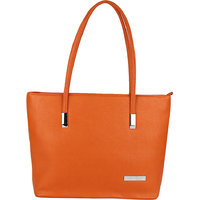 Lino Perros Marvelous Leatherite Orange Handbag