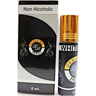 White Oudh-Essential Oil 8Ml Non Alcoholic Attar-Essential Oil