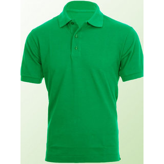 Mens Polo T-Shirt Green colour