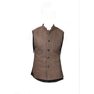 Nehru Jacket (cream/woolen) L-40