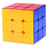 Kiditos Rubiks Cube 3x3x3 Puzzle Extra Smooth  High Speed Sticker less
