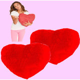 Valentines Day Special Heart Coushion For Your Valentine (set Of 2 Pieces)
