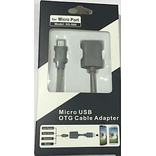 BKT Micro USB OTG Gaming Cable for SAMSUNG Tablets and SAMSUNG Mobiles USB Cable
