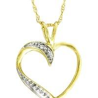 Kaara's Real Diamond Heart Valentine Pendant Design-1