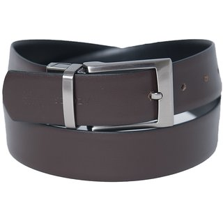 Azores Graceful Black & Brown Reversible Belt
