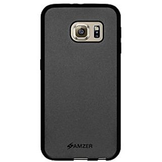 Amzer Back Cover For Samsung Galaxy S6 (Black)