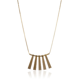 Thingalicious Sun Kissed Gold Necklace