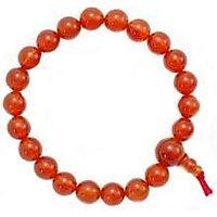 CROWN - Natural Genuine Carnelian Gemstone Bracelet For Gents  Ladies