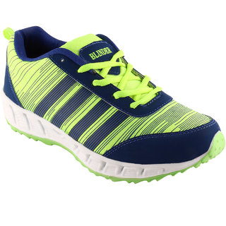 BLINDER Green and Navy blue Sport Shoes