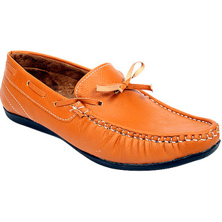Sukun Men Beigh Loafer Shoes