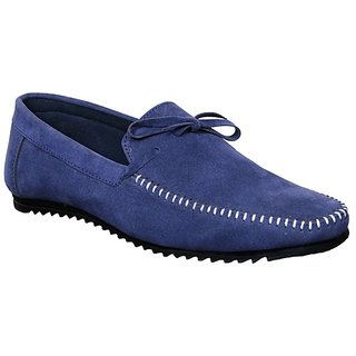 Sukun Men Blue Loafer Shoes