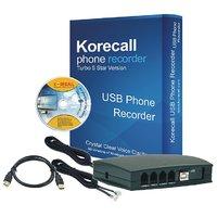 2 Line Phone Recording Device USB Call Recording Voice Logger