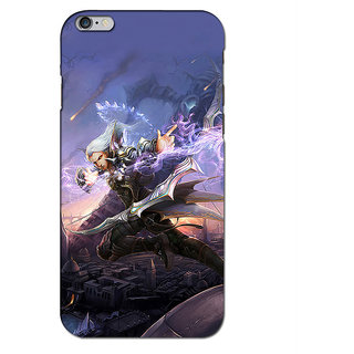 Instyler Premium Digital Printed 3D Back Cover For Apple I Phone 6 3DIP6DS-10030