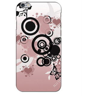Instyler Premium Digital Printed 3D Back Cover For Apple I Phone 6 Plus 3DIP6PDS-10028