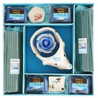 Candle and Incense Gift Set