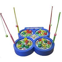 Fish Catching Game A Complete Family Entertainment Up To 4 Players