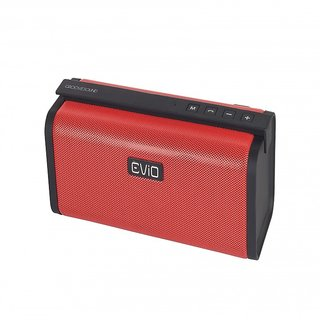 EViO GROOVESOUND PS62 Bluetooth 2.1 Speaker - Red