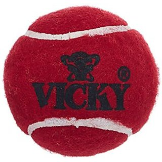 Vicky Tennis Cricket Balls 3Pcs.