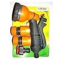 Garden & Car Hose Nozzle Set (Imported  Good Quality) - 4 Pcs