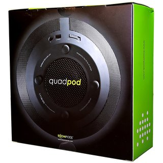 Boompods Quadpod Wireless Portable Speaker