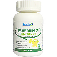 Healthvit Evening Primrose Oil 500Mg 60 Softgels