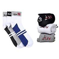 Sports Socks Combo 3 + 3