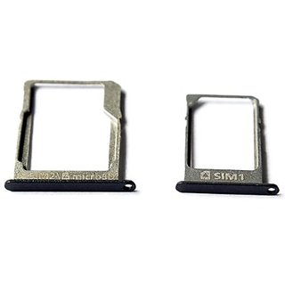 SIM Card + Memory Card Holder SD Card Tray For Samsung Galaxy A3 SM-A300F Black