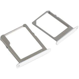 SIM Card + Memory Card Holder SD Card Tray For Samsung Galaxy A7 SM-A700F White