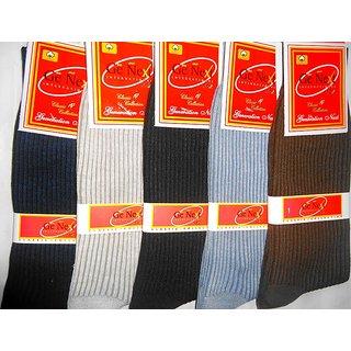 V.K.S RIBBED SOCKS FOR MEN FOR BOTH FORMAL CASUAL WEAR- 12 Pairs
